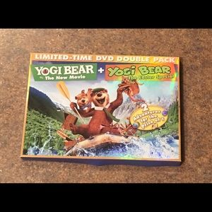 Yogi Bear DVD Double Pack - NIB